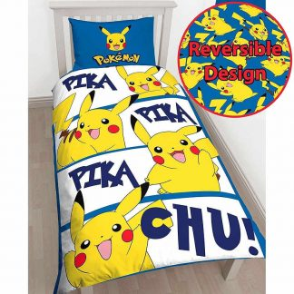 Pokémon Pikachu Single Quilt Cover