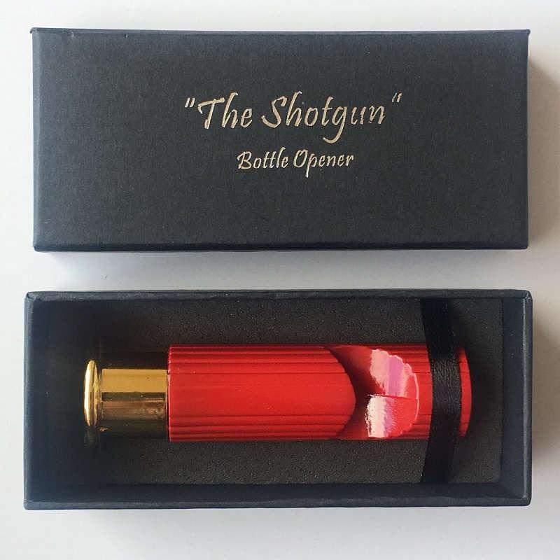 12 Gauge Shotgun Shell Bottle Opener Solid Metal