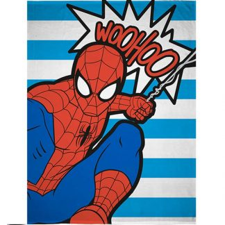Spiderman Abstract Fleece Blanket