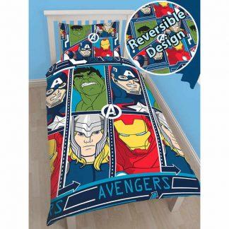 avengers tech single quilt cover