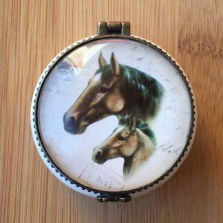 Horse Ceramic Box