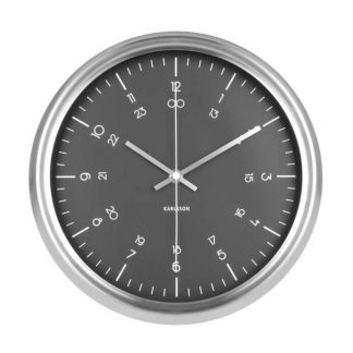 Karlsson Nautical Black Wall Clock