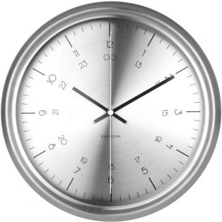 Karlsson Nautical Stainless Steel Wall Clock