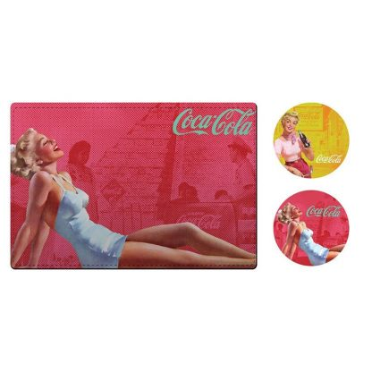 Coke Placemats & Coasters Pinups