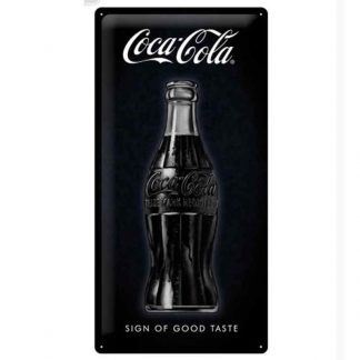 Coke Sign of Good Taste Metal Tin Sign