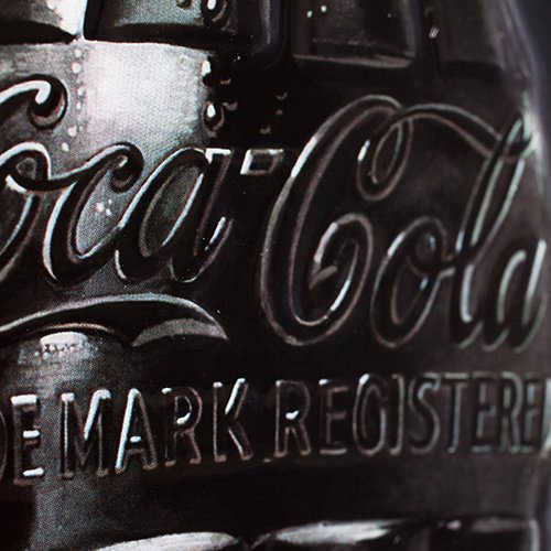 Coke Sign of Good Taste Metal Tin Sign