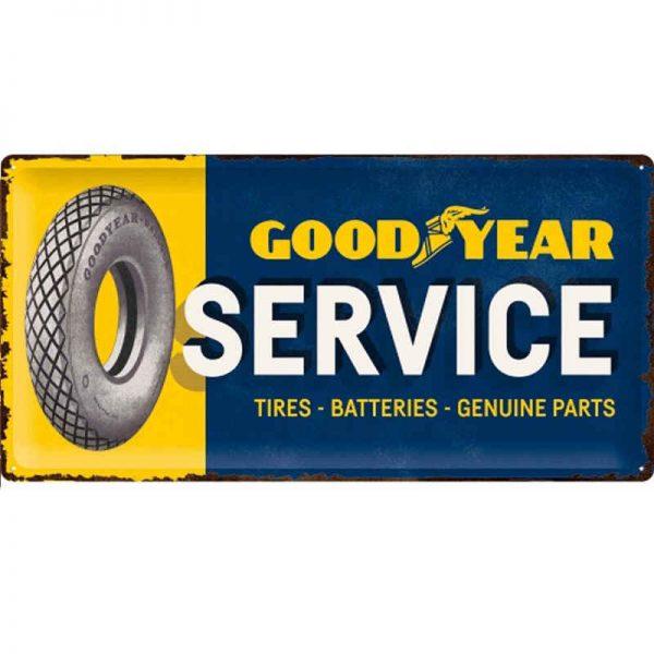 Goodyear Service Tin Sign