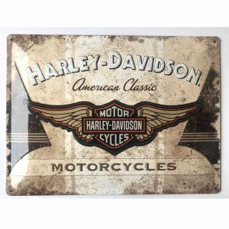 Harley Davidson American Classic Embossed Sign