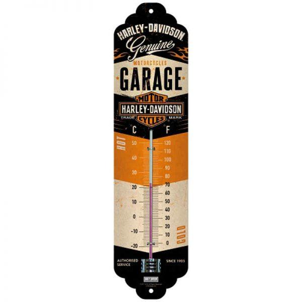 Harley Davidson Garage Thermometer