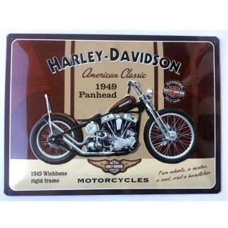 Harley Davidson Panhead Sign