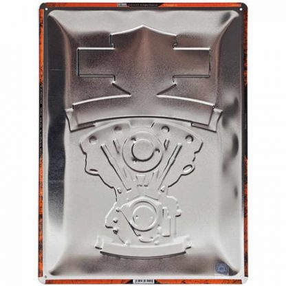 Harley Davidson Wild at Heart Embossed Sign