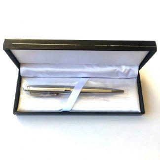 Ballpoint Twist Pen Silver