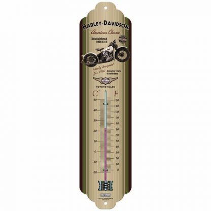Harley Davidson Knucklehead Thermometer