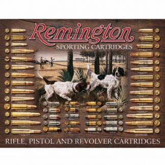 Remington Bullet Board Tin Sign