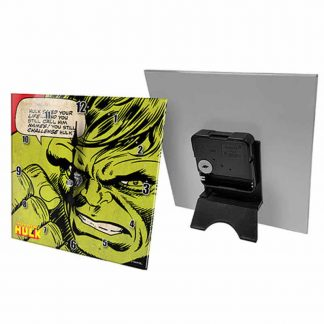 Hulk Mini Glass Desk Clock