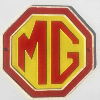 MG Cast Iron Sign