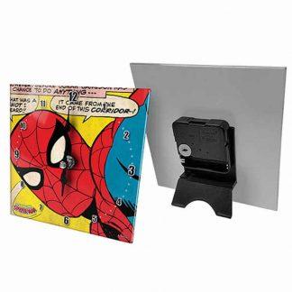 Spiderman Glass Desk Clock