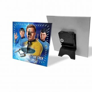 Star Trek Mini Glass Desk Clock