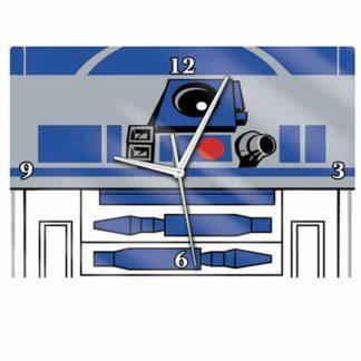 Star Wars R2D2 Glass Clock