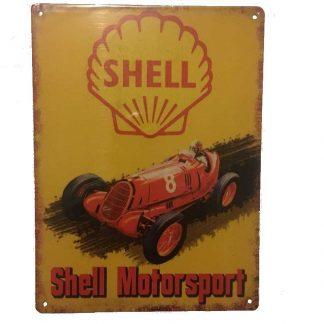 Shell Motorsport Tin Sign