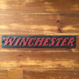 Winchester Cast Iron Sign