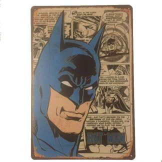 Batman Comics Tin Sign