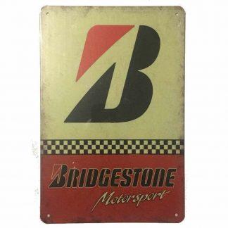 Bridgestone Motorsport Tin Sign