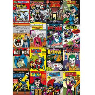 Batman Comic Covers Montage Canvas