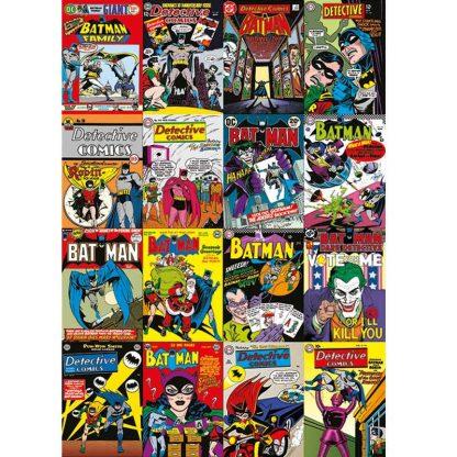 Batman Comic Covers Montage Canvas