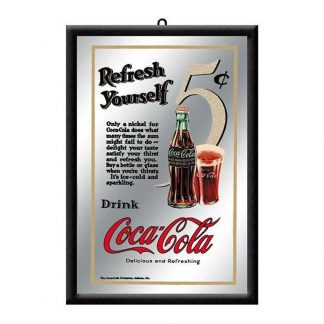 Coca Cola Mirror Refresh Yourself