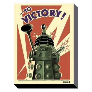 Doctor Who Victory Canvas