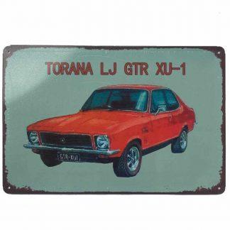 Holden Torana LJ GTR XU-1 Tin Sign