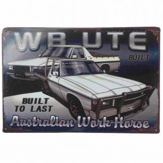 Holden WB Ute Tin Sign