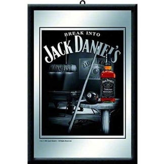 Jack Daniels Billiards Mirror