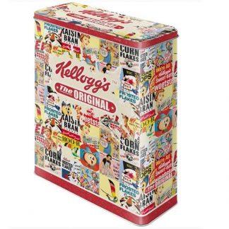 Kelloggs The Original Embossed XL Storage Tin