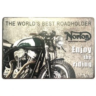 Norton Motorcycles Tin Sign