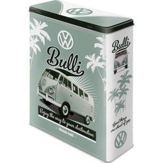 VW Bulli Embossed XL Storage Tin