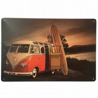VW Combi Tin Sign