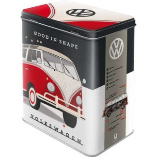 VW Good in Shape Embossed Large Tin