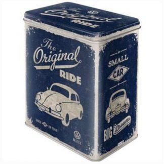VW Original Ride Embossed Large Tin