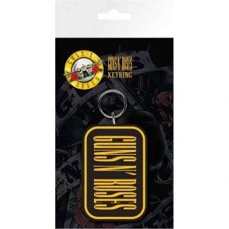 Guns N Roses Logo Keyring