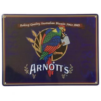 Arnotts Blue Tin Sign