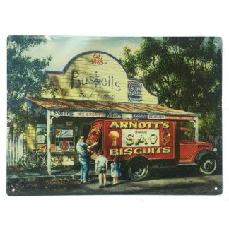 Bushells Arnotts Tin Sign