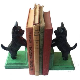 Cast Iron Scotty Bookends