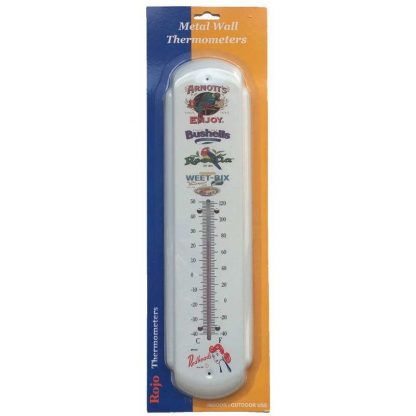 Classic Icons Metal Thermometer