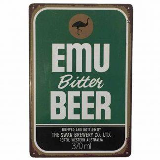 Emu Bitter Tin Sign