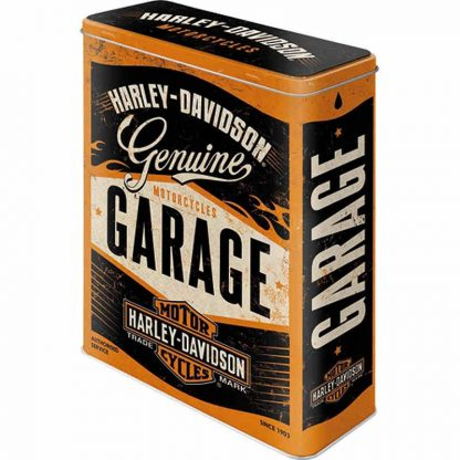 Harley Davidson Genuine Garage XL Tin