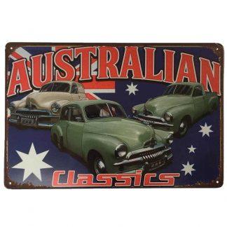 Holden FJ Australian Classic Cars Tin Sign