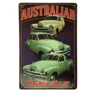 Holden FJ Classic Cars Tin Sign