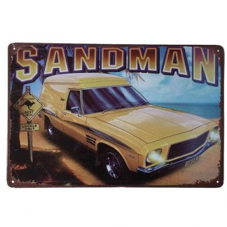 Holden Sandman Car Sign